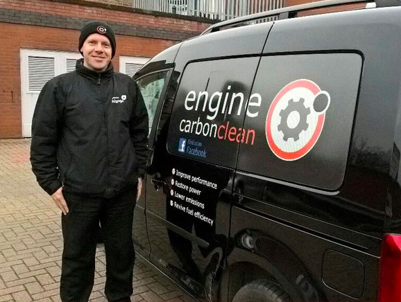 Gary at Engine Carbon Clean