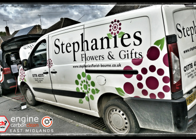 Peugeot Van for Stephanie's Flowers in Bourne
